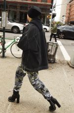 HAILEY BALDWIN Out in New York 05/10/2017
