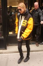 HAILEY BALDWIN Out Shopping in New York 04/30/2017
