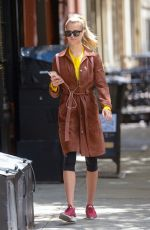 HAILEY CLAUSON Out and About in New York 05/09/2017