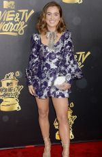 HALEY LU RICHARDSON at 2017 MTV Movie & TV Awards in Los Angeles 05/07/2017
