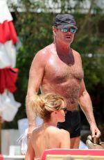 HALEY ROBERTS in Bikini on the Beach in Miami 05/15/2017