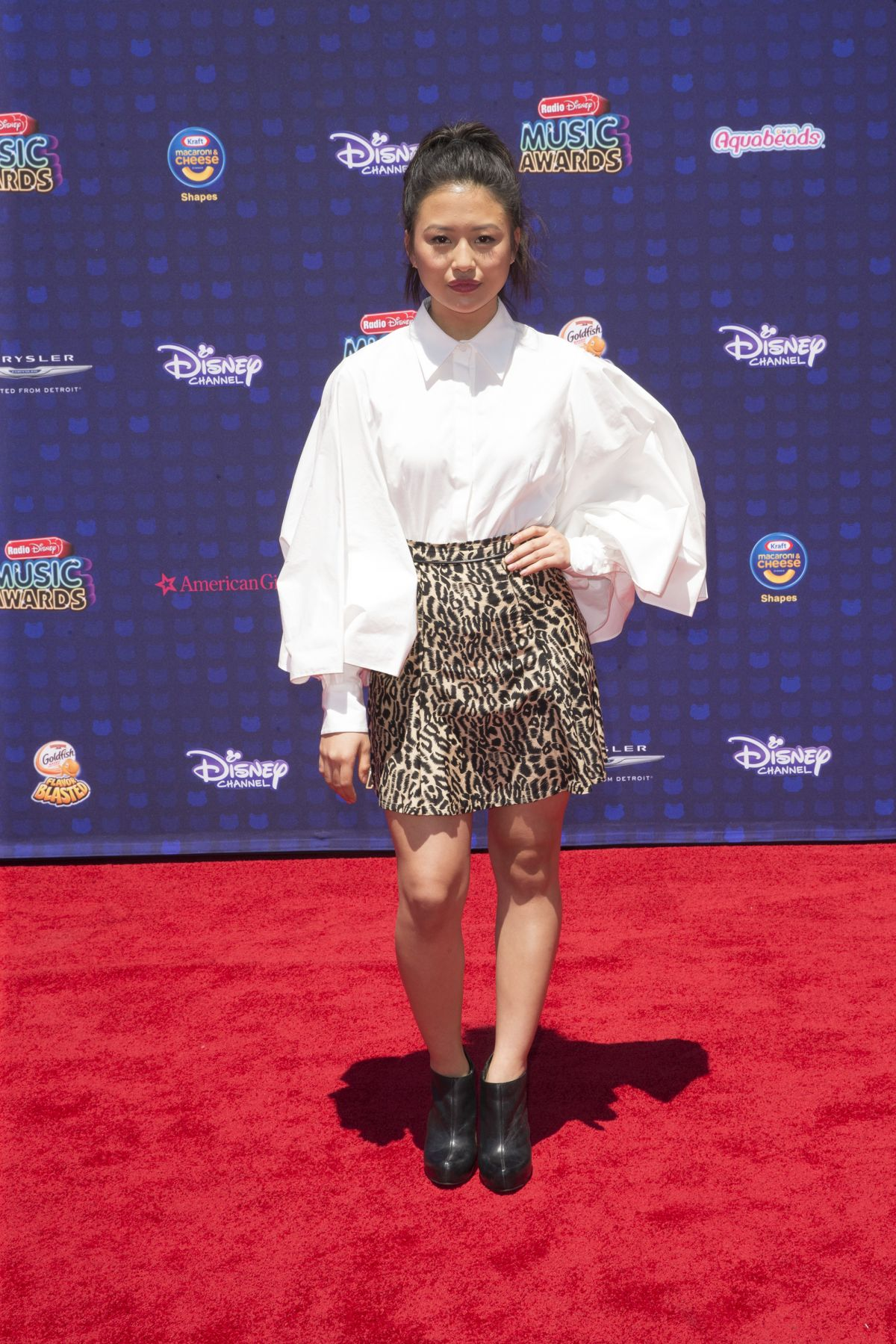HALEY TJU at 2017 Radio Disney Music Awards in Los Angeles 04/29/2017