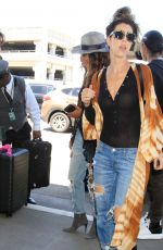 HALLE BERRY at LAX Airport in Los Angeles 04/30/2017