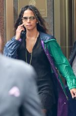 HALLE BERRY Out and About in New York 05/01/2017