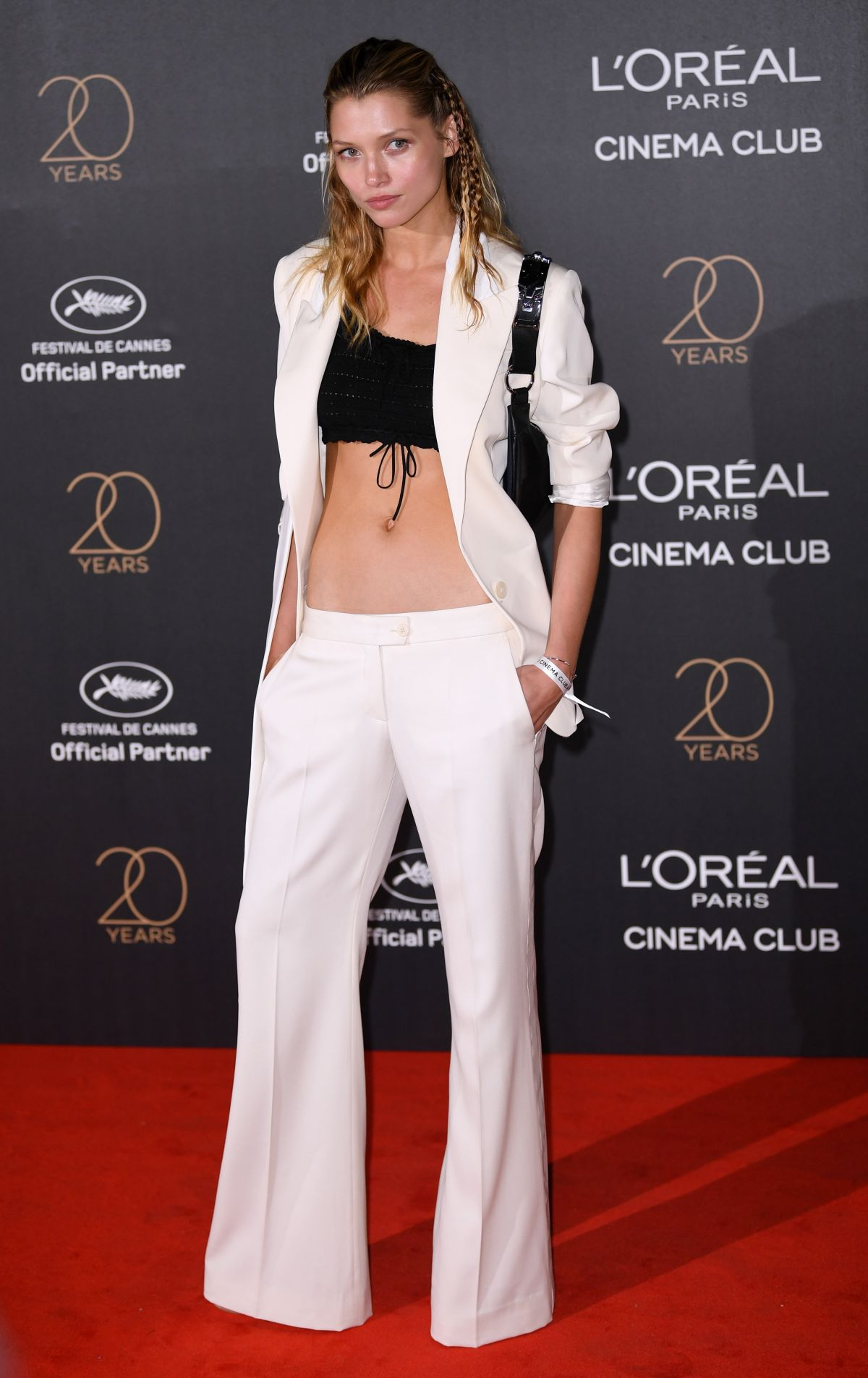 HANA JIRICKOVA at L'Oreal 20th Anniversary Party at Cannes Film Festival 05/24/2017