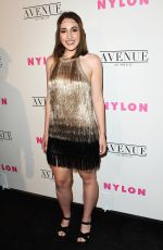 HARLEY QUINN SMITH at Nylon Young Hollywood May Issue Party in Los Angeles 05/02/2017