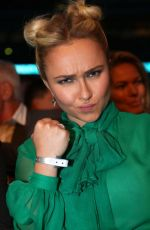 HAYDEN PANETTIERE at Wembley Arena in London 04/29/2017
