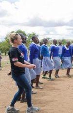 HAYDEN PANETTIERE at Wildlife Direct in Kenya 05/05/2017