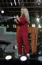 HAYLEY WILLIAMS Performs at Jimmy Kimmel Live 05/17/2017