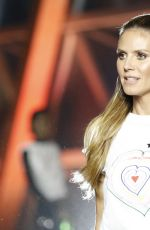 HEIDI KLUM at Fashion for Relief Charity Gala in Cannes 05/21/2017