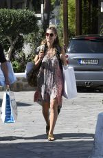 HEIDI KLUM Out and About in Mykonos 05/30/2017