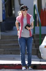 HEIDI MONTAG Out Shopping in Los Angeles 05/13/2017