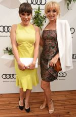 HELEN GEORGE and VIKKI STONE at Audi Polo Challenge at Coworth Park in Ascot 06/06/2017