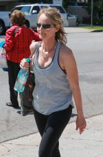 HELEN HUNT Leaves a Gym in Bretwood 05/04/2017