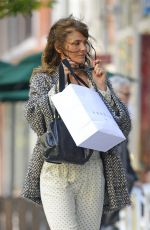 HELENA CHRISTENSEN Out and About in New York 05/16/2017