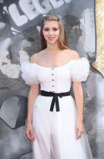 HERMIONE CORFIELD at King Arthur: Legend of the Sword Premiere in London 05/10/2017