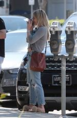 HILARY DUFF in Jeans Out and About in Los Angeles 05/27/2017