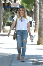 HILARY DUFF Out and About in Los Angeles 05/03/2017