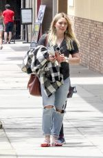 HILARY DUFF Out in Studio City 05/29/2017