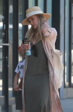 HILARY DUFF Out Shopping in Studio City 05/28/2017