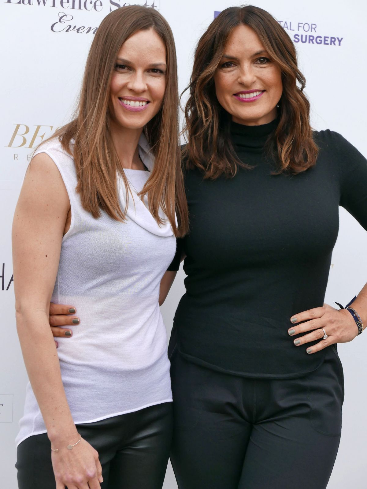 HILARY SWANK and MARISKA HARGITAY at Hamptons Magazine Memorial Day Soiree in New York 05/27/2017