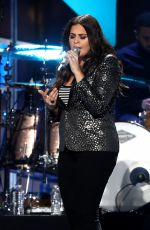 HILLARY SCOTT at 2017 Iheart Country Festival in Austin 05/06/2017
