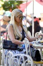 HOLLY MADISON at Jolly Roger Cafe in Los Angeles 05/30/2017