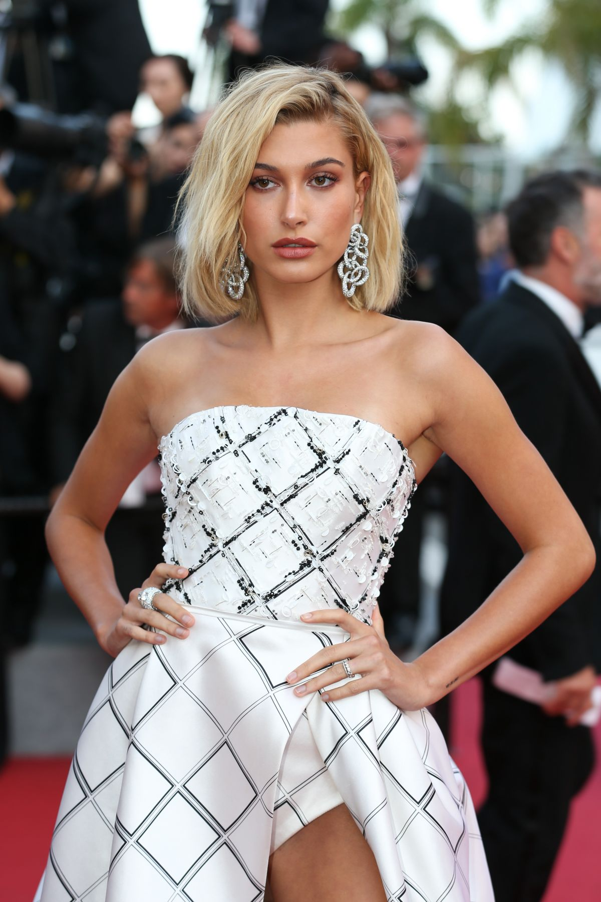 Hailey Baldwin In Fashion Magazine October 2017 Issue: HAILEY BALDWIN At The Beguiled Premiere At 70th Annual
