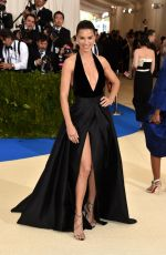 ADRIANA LIMA at 2017 MET Gala in New York 05/01/2017