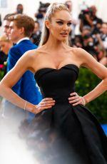 CANDICE SWANEPOEL at 2017 MET Gala in New York 05/01/2017