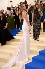BEHATI PRINSLOO at 2017 MET Gala in New York 05/01/2017
