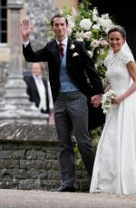 PIPPA MIDDLETON at Her Wedding at St. Marks Church in Englefield 05/20/2017