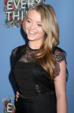 JADE PETTYJOHN at Everything, Everything Screenng in Hollywood 05/06/2017