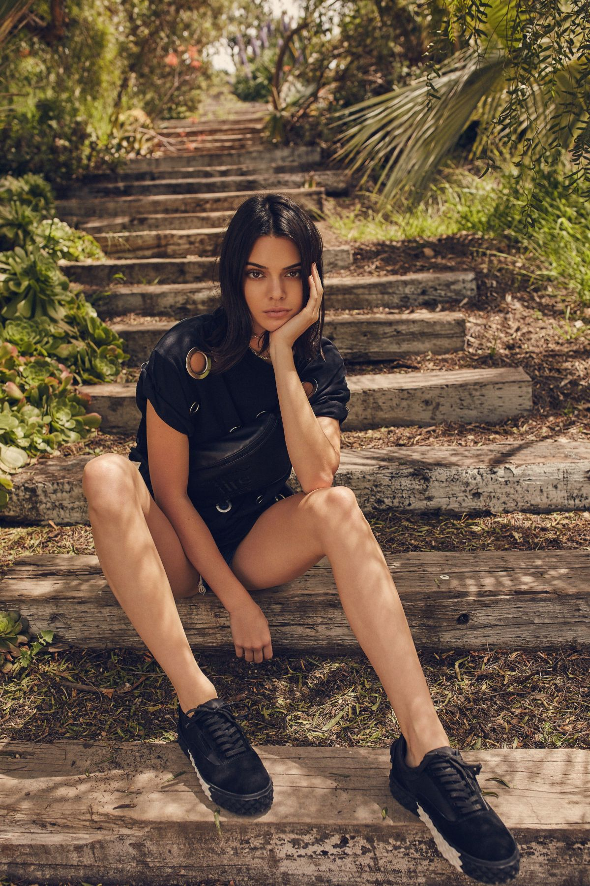 251012efd2476 KENDALL and KYLE JENNER for Pacsun Summer 2017 Collection – HawtCelebs