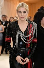 RILEY KEOUGH at 2017 MET Gala in New York 05/01/2017
