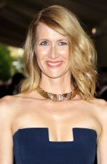LAURA DERN at 2017 MET Gala in New York 05/01/2017
