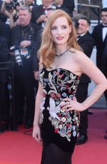 JESSICA CHASTAIN at Ismael