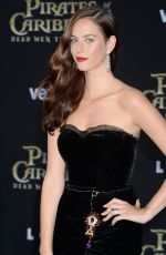 KAYA SCODELARIO at Pirates of the Caribbean: Dead Men Tell no Tales Premiere in Hollywood 05/18/2017