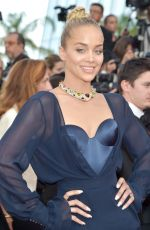 JASMINE SANDERS at The Killing of a Sacred Deer Premiere at 70th Annual Cannes Film Festival 05/22/2017