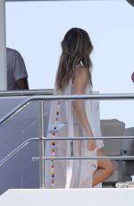 SOFIA RICHIE, CHANTEL JEFFRIES and JOCELYN CHEW in Bikinis at a Yacht in Monaco 05/28/2017