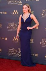HUNTER HALEY KING at 44th Annual Daytime Emmy Awards in Los Angles 04/30/2017