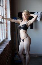 ILIZA SHLESINGER on the Set of a Photoshoot
