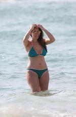 IMOGEN THOMAS in Bikini on the Beach in Spain 05/07/2017