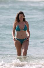 IMOGEN THOMAS in Bikini on the Beach in Spain 05/07/2017