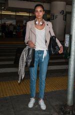 IRINA SHARIPOVA  Irina Sharipova seen at LAX airport in Los Angeles 04/30/2017
