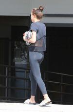 IRINA SHAYK in Tights Out in Santa Monica 05/09/2017