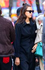 IRINA SHAYK Out and About in New York 05/15/2017