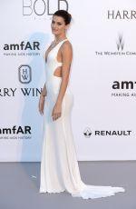 ISABELI FONTANA at Amfar's 24th Cinema Against Gala at Cannes Film Festival 05/25/2017