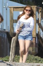 ISLA FISHER at a Beach in Malibu 05/29/2017