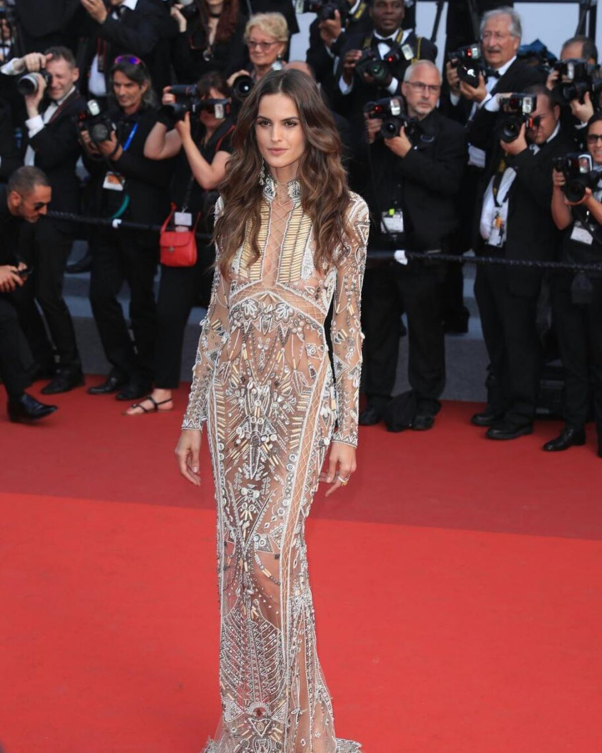 IZABEL GOULART at The Beguiled Premiere at 70th Annual Cannes Film Festival 05/24/2017